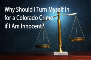 Surrendering on a Colorado Arrest Warrant